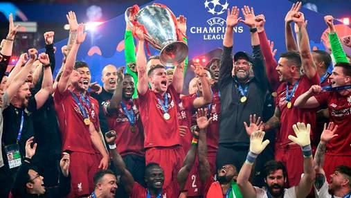 """Невероятные эмоции игроков """"Ливерпуля"""" после победы в Лиге чемпионов: фото"""