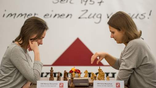 Сестры Музычук одержали ничьи на турнире претенденток в России