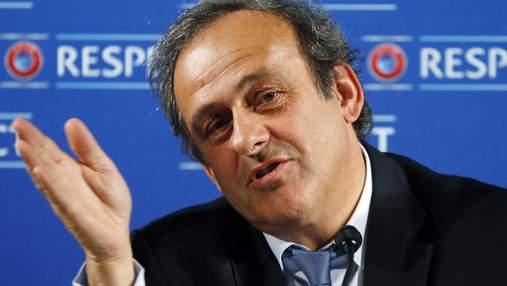 У ФІФА відреагували на затримання Мішеля Платіні