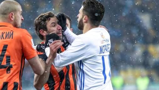 Мораес тепло обнялся с Срной, а еще два года назад они подрались на футбольном поле: видео