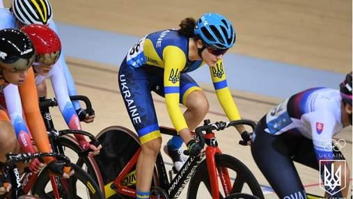 Украинская велогонщица Анна Соловей становится чемпионкой II Европейских игр