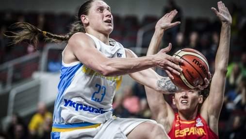 Женская сборная Украины с поражения стартовала на Евробаскет-2019
