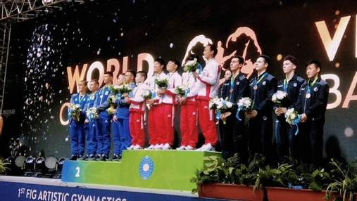 Юніорська збірна України взяла срібло на ЧС зі спортивної гімнастики
