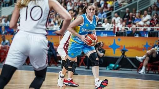 Женская сборная Украины потерпела второе поражение на Евробаскете: видео