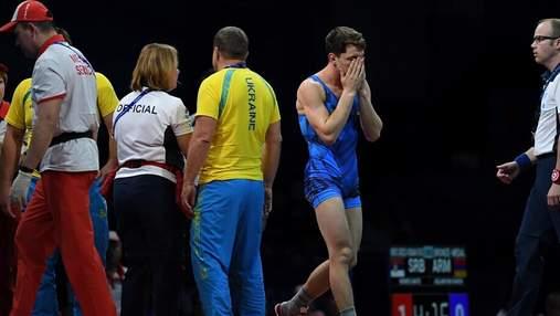 Український борець ледь не загинув на Європейських іграх, але зумів продовжити бій: відео