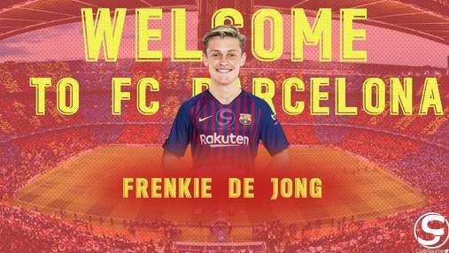"""""""Барселона"""" офіційно представила юного новачка клубу: яскраві фото та відео"""