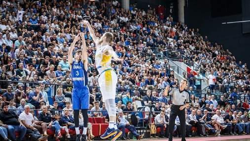 Украина уступила в третьем туре молодежного Евробаскета-2019, но вышла в плей-офф