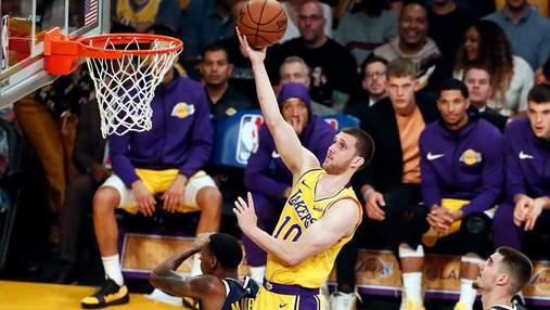 """Баскетболист """"Детройта"""" поддержал двух кандидатов в нардепы: видео"""