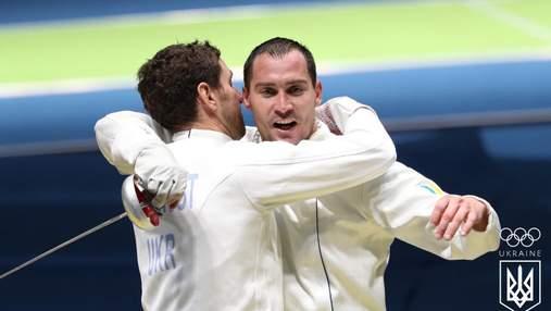 Чоловіча збірна України з фехтування здобула срібло чемпіонату світу