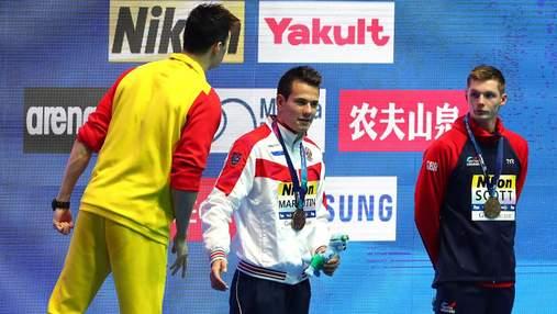 Олімпійський чемпіон влаштував гарячу перепалку через суперника, який відмовився потиснути руку