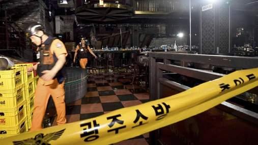 У Південній Кореї під час чемпіонату світу обвалилася конструкція в нічному клубі: є загиблі