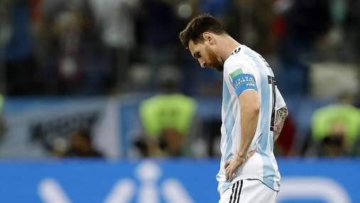 Месси получил суровую дисквалификацию в сборной Аргентины: известна причина