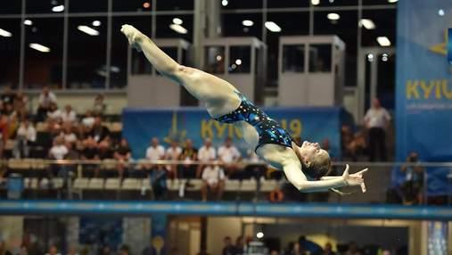 Українка Федорова виборола срібло на ЧЄ зі стрибків у воду, поступившись у Києві росіянці