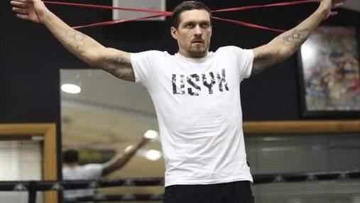 Усик розпочав спаринги перед дебютом в суперважкій вазі: відео