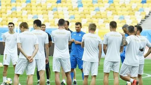 Збірна України буде готуватися до матчу з Литвою на полі зі штучним газоном