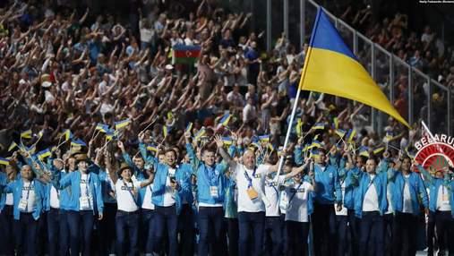 Как украинские спортсмены отмечают День флага: фото и видео