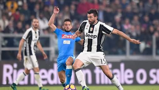 Ювентус – Наполи: где смотреть онлайн матч чемпионата Италии