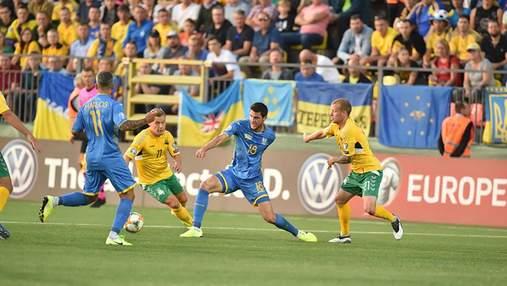 Україна розгромила Литву у матчі кваліфікації Євро-2020