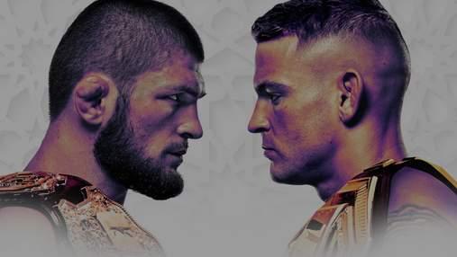 Хабиб Нурмагомедов – Дастин Порье: прогноз букмекеров на бой UFC242