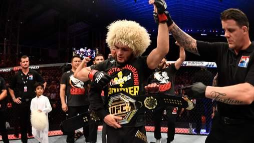 Стало відомо, скільки Хабіб Нурмагомедов та Дастін Пор'є заробили за бій UFC242
