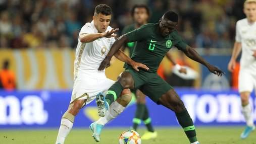 Форвард сборной Украины прокомментировал свою травму в матче против Нигерии