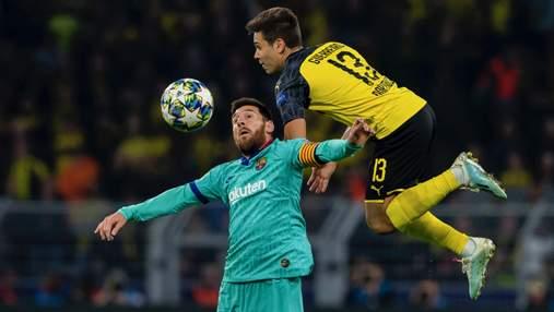"""""""Боруссия"""" и """"Барселона"""" не сумели выявить сильнейшего в первом матче Лиги чемпионов"""