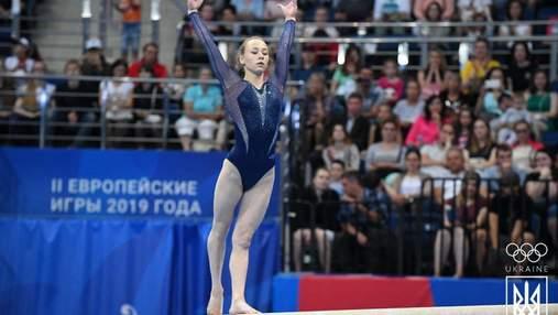 Украинские гимнастки завоевали полный комплект наград на этапе Кубка мирового вызова
