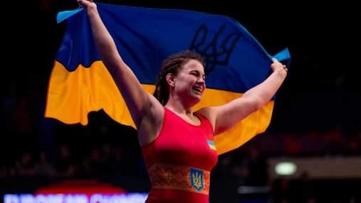 Украинка Бережная стала вице-чемпионкой мира по борьбе