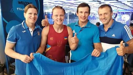 Украинская борчиха Коляденко выиграла серебро чемпионата мира
