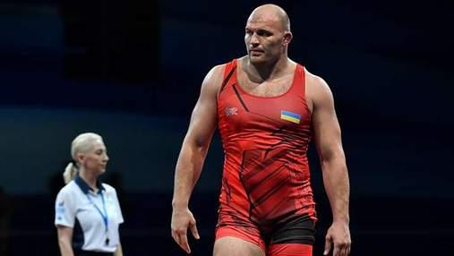 Борец Хоцяновский завоевал очередную медаль для Украины на чемпионате мира