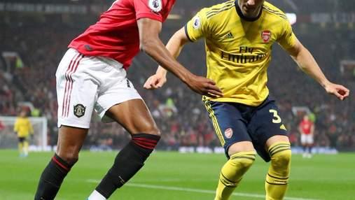 """""""Манчестер Юнайтед"""" розписав результативну нічию з """"Арсеналом"""" у матчі АПЛ: відео голів"""
