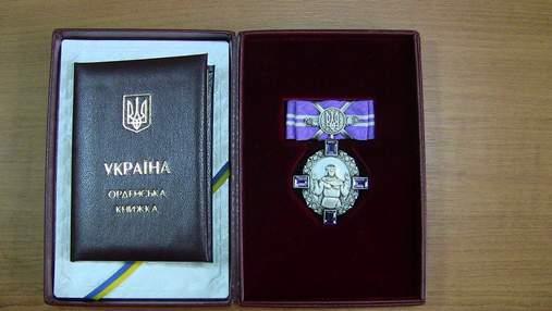 Украинские спортсмены получили ордена и медали от президента Украины