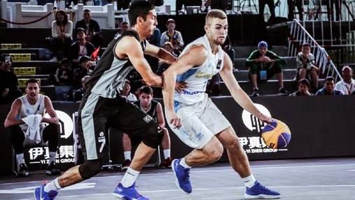 Сборная Украины по баскетболу 3х3 нанесла Бразилии первое поражение на чемпионате мира
