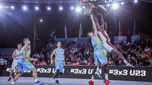 Украина пробилась в плей-офф чемпионата мира по баскетболу 3х3