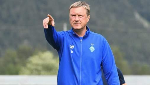 """Мені потрібно було піти влітку: Хацкевич шкодує, що не покинув """"Динамо"""" раніше"""