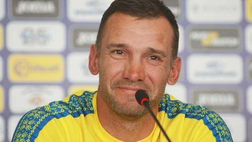 Шевченко розповів про настрій збірної України перед важливим матчем з Литвою