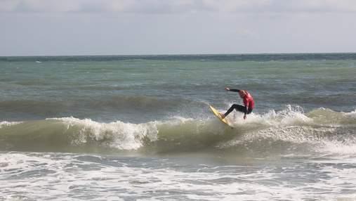В Одесі відбулися всеукраїнські змагання з серфінгу: фото