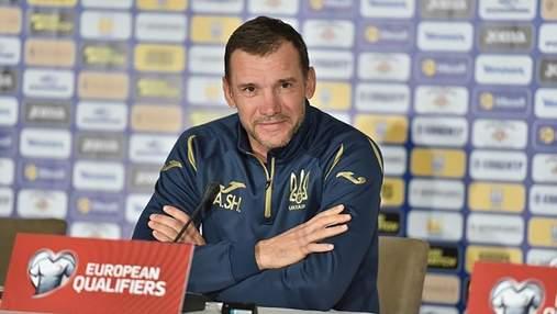 Шевченко рассказал, что ему не понравилось в игре сборной Украины против Литвы