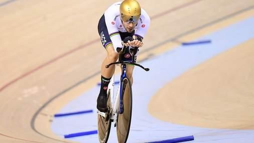 Італійський спортсмен двічі за день побив світовий рекорд на велотреку: неймовірні результати