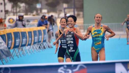 Украинка Елистратова завоевала серебро Кубка мира по триатлону
