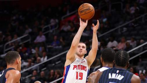 Михайлюк ударно провел матч НБА, но его команда проиграла: видео