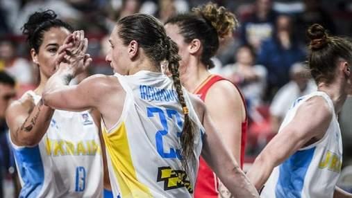Сборная Украины по баскетболу заняла высокое место в европейском рейтинге ФИБА