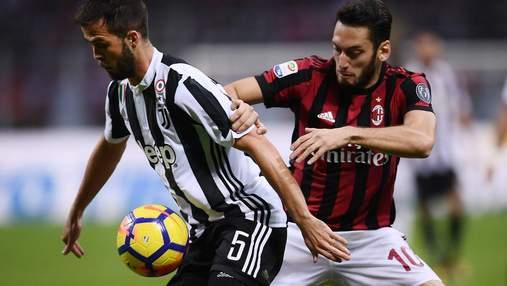 Ювентус – Милан: прогноз букмекеров на центральный матч 12 тура Серии А