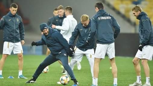 Лазарет сборной Украины: Миколенко вернулся в общую группу, Коноплянка заболел