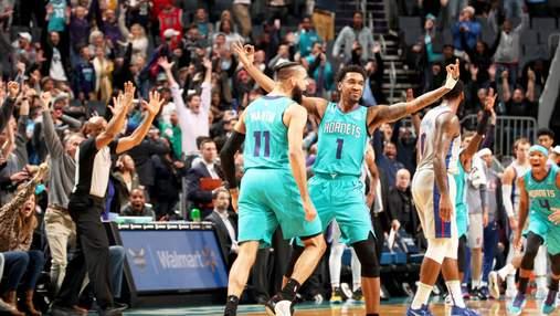 Победный бросок с сиреной в матче украинца – лучший эпизод дня в НБА: видео
