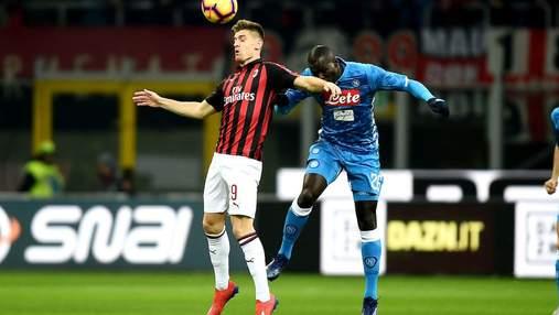 Милан – Наполи: где смотреть матч чемпионата Италии