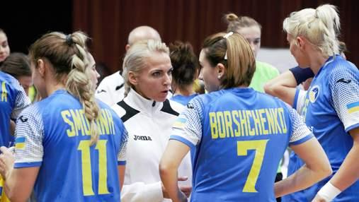 Жіноча збірна України з гандболу поступилася Білорусі на міжнародному турнірі