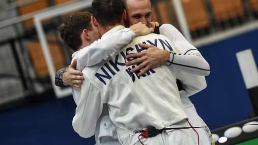 Українці вибороли ще дві медалі на Кубках світу з фехтування