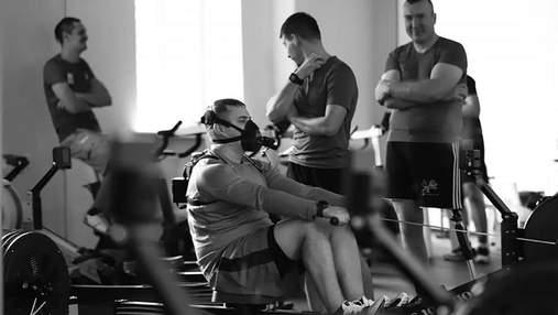 Перше тренування української збірної Ігор Нескорених: мотивуючі відео
