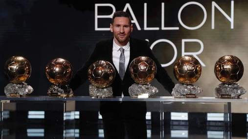 Ліонель Мессі – переможець Золотого м'яча 2019 року